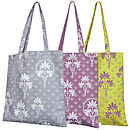 Floral Organic Printed Shopper