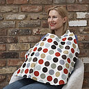 Breastfeeding Cover Red Dotty