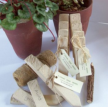 Bird Ceramic Plant Markers