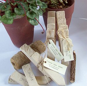 Bird Ceramic Plant Markers - tools & equipment
