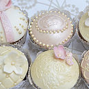 Vintage Wedding Collection Couture Cupcakes