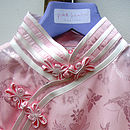 Girl's Silk Chinese Style Dress