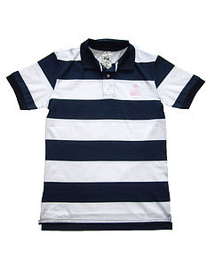 Striped Polo Shirt - nautical necessities
