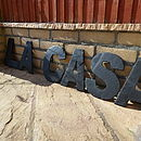 Decorative Slate Letter
