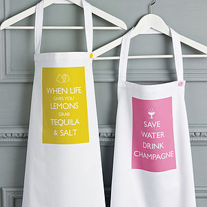 Statement Apron - kitchen accessories