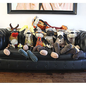 The 'Oglers' Large Decorative Characters - soft toys & dolls