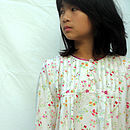 Girls Floral Brushed Cotton Nightdress
