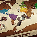Scratch Off World Map ' Super Fast Delivery '