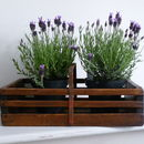 Slatted Wooden Trug