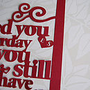 'Loved You Yesterday' Papercut Art