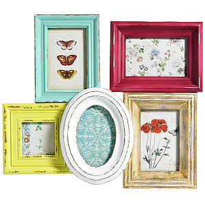 Multi Picture Frame For Wall By Nordal - picture frames