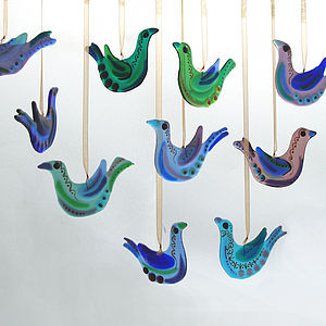 Handmade Glass Bird