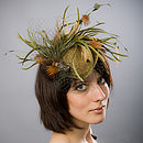Natural Feather Fascinator
