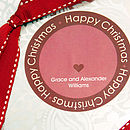 Personalised Christmas Gift Stickers