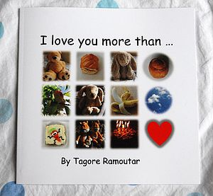 'I Love You More Than' Book - toys & games