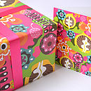 Bloom Gift Wrap and Card Set (Pink new)
