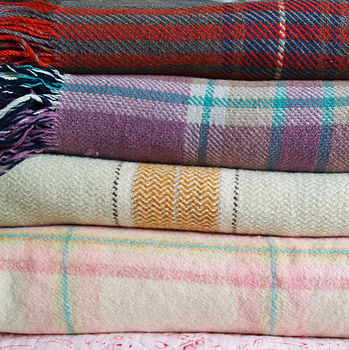 Vintage Check Welsh Blanket