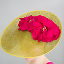 Sinamy Hat With Silk Poppies