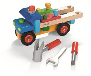 Diy Wooden Truck And Tool Kit - traditional toys & games