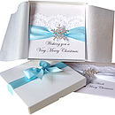 Luxury Personalised Christmas Card Snowflake