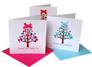Christmas Tree Bright Christmas Card