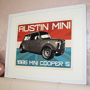Your Vehicle Personalised Retro Poster