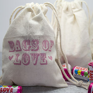 Fair Trade Cotton Favour Pouch - gift bags & boxes