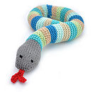 Knitted Snake Toy