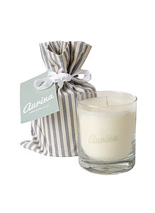 Aurina Scented Candle - table decorations
