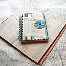 Note Book With Vintage Collage