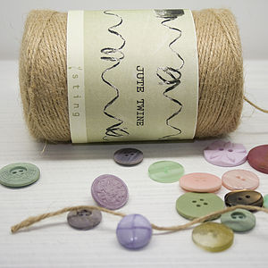 Spool Of Jute Twine - diy stationery