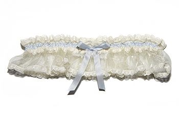 Elphie Lace Wedding Garter