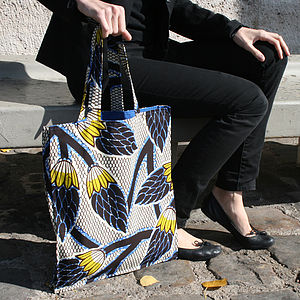 Reversible Print Bag - Choice Of Print - bags, purses & wallets
