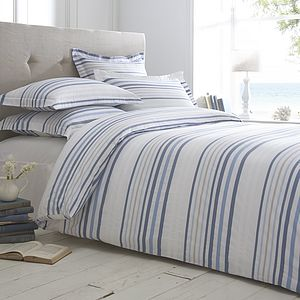 Boston Stripe Organic Cotton Bedding
