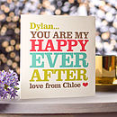 'Happy Ever After' Valentine's Card