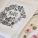 Girl's Personalised Tote Gift Bag