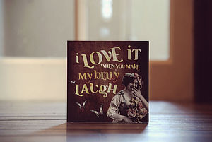 'Belly Laugh' Card