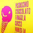Gelateria - Italian Ice Cream Print