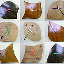 Upcycled wooden clock's variation