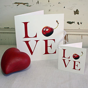 'Love' Card And Gift Tag
