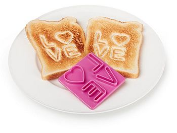 Toast Stamp Love On Toast
