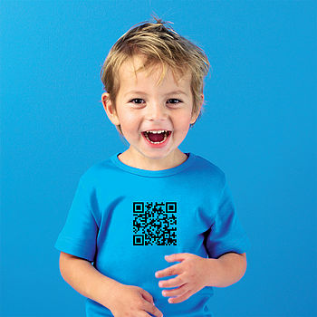 Secret QR Code T Shirt