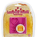 'Love' Toast Stamp