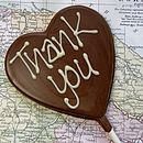 'Thank You' Handmade Chocolate Lolly
