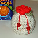 Crochet Valentine Chocolate Orange Cosy