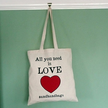 All You Need Is Love Shopper Bag