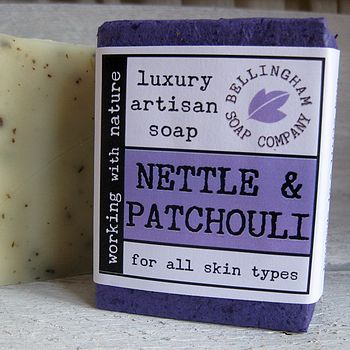 Nettle And Patchouli Handmade Soap
