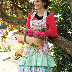 Betty Cotton Apron - aprons