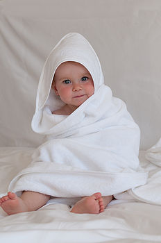 Child's Organic Cotton Bath Towel