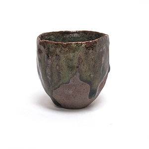 Hand Moulded Sake Cup - dining room